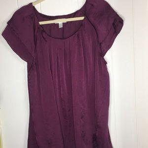 Dressbarn burgundy top woman size 2X